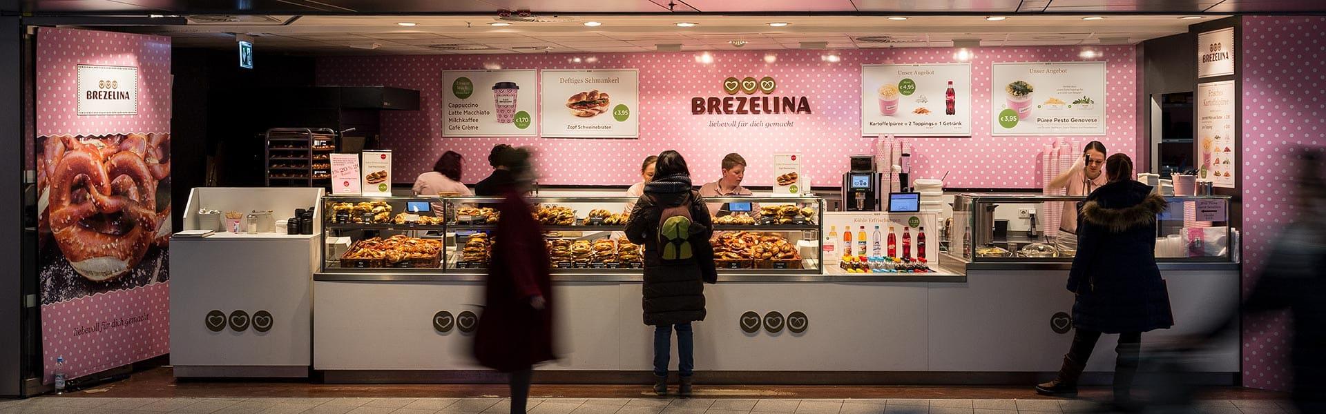 Brezelina München Filiale Marienplatz Beste Brezen Zöpfe Croissants Pürees